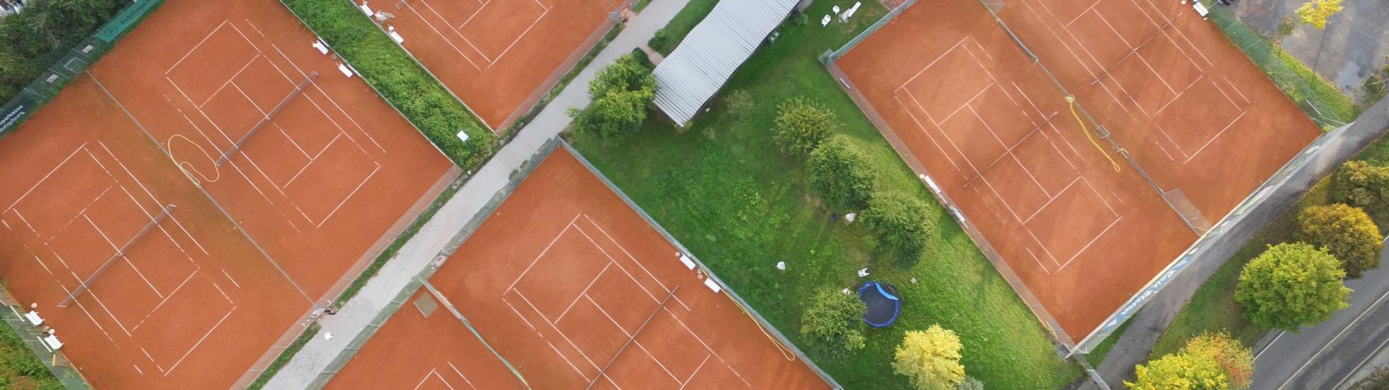 Luftbild Tennisplätze TKB